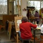 Kulturelle Bildung im Atelier
