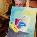 Malerei mit Roland Oesker2