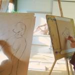 Malerei mit Roland Oesker3
