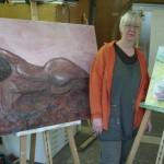Malerei mit Roland Oesker5