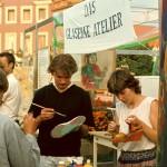 kulturelle Bildung Gläsernes Atelier Schuhe
